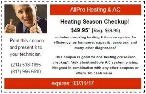 Heating Coupon 2017